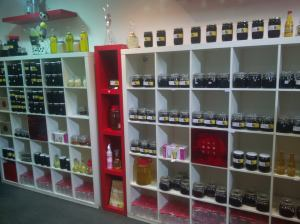 Honey store in Riyadh.